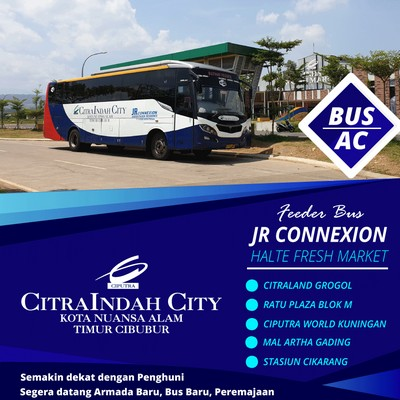 bus JR Connexion Feeder bus CitraindahCity