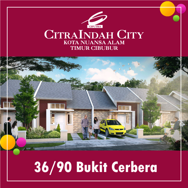 cerbera 36/90 CitraIndah City