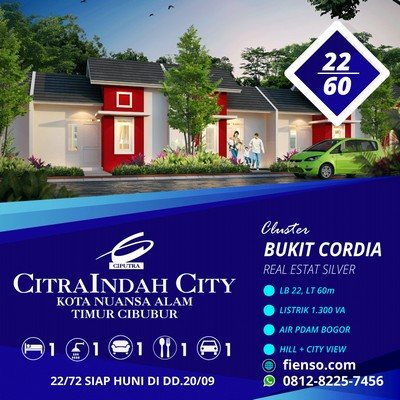 Cordia 22/60 CitraIndah City