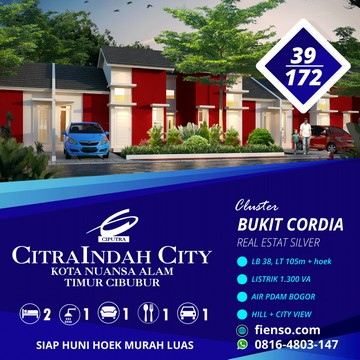 Cordia 39/172 CitraIndah City