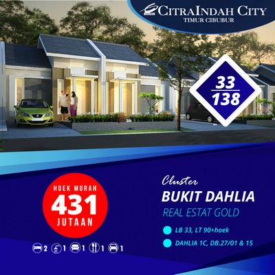 Dahlia 1C Hoek 33/138 DB17/01 & 05 CitraIndah City