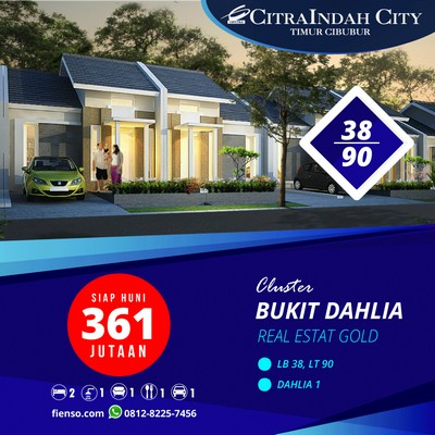 Dahlia 38/90 CitraIndah CIty
