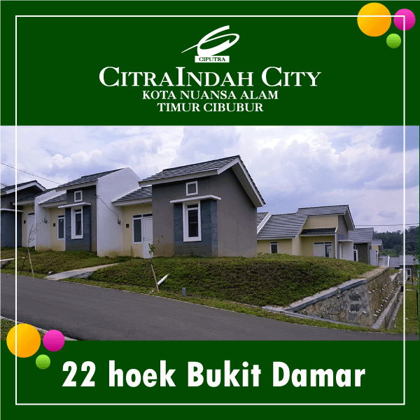 damar 22 hoek citra indah city