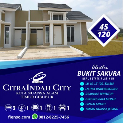 Sakura 3, 45/120, CitraIndah City