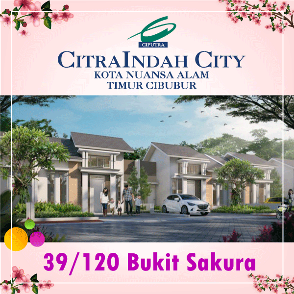 sakura 39/120 CitraIndah City