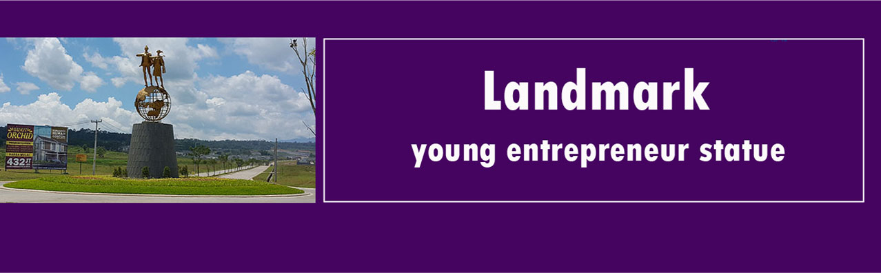New Landmark, Young Entrepreneur Statue