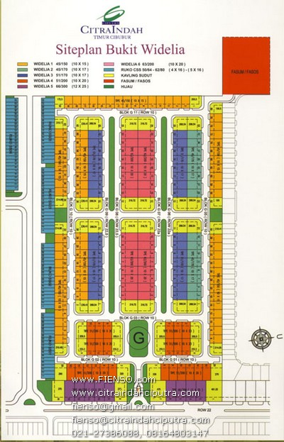 site plan widelia